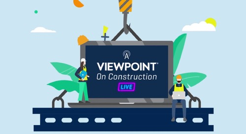 A Viewpoint on Construction Live - May 6, 2020