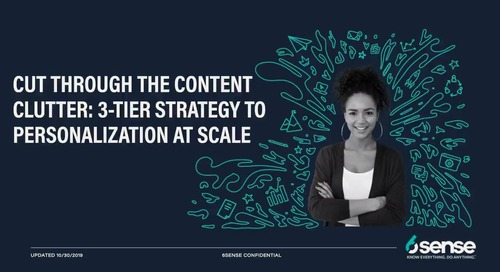 6sense + Uberflip | 3-Tier Strategy to Personalization at Scale