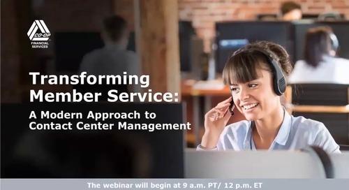 Transforming Member Service Webinar