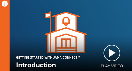 Getting Started with Jama Connect: Introduction