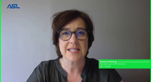 ASL Global Talks About Their Supplier Code of Conduct - Emma Pomeroy