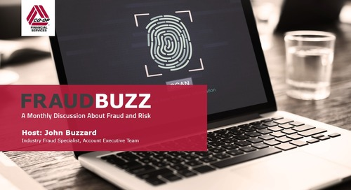 FraudBuzz Webinar - September 2018