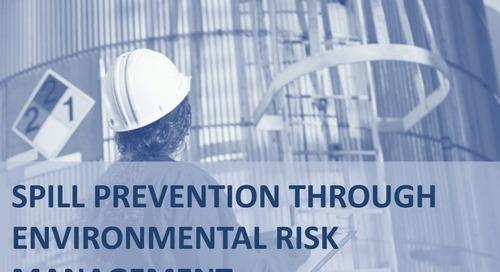 Webinar: Spill Prevention through Environmental Risk