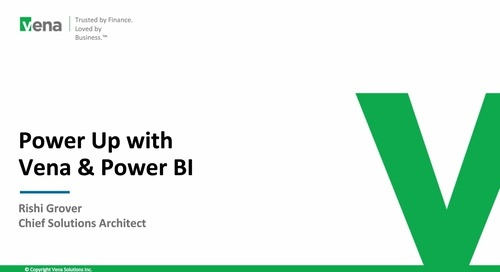 Powering Up with Vena and Power BI