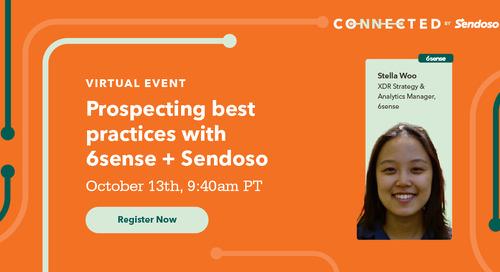 Prospecting Best Practices with 6sense + Sendoso