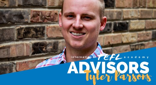 International TEFL Academy Advisor - Tyler Parson