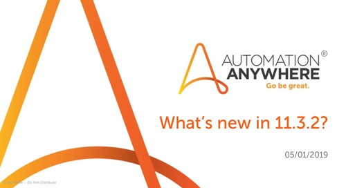 What is new in Automation Anywhere Enterprise 11.3.2?