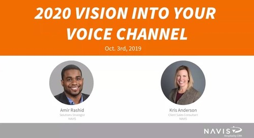 2020 Vision Into Your Voice Channel
