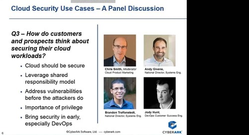 Cloud Security Use Cases A Panel Discussion