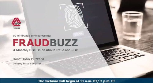 FraudBuzz Webinar - October 2019