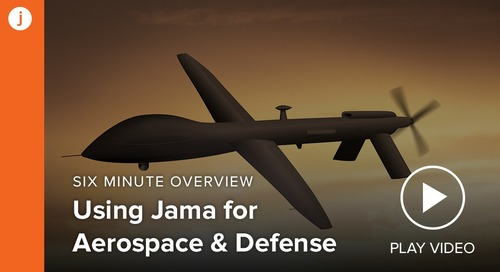 Jama Connect™ for Aerospace and Defense