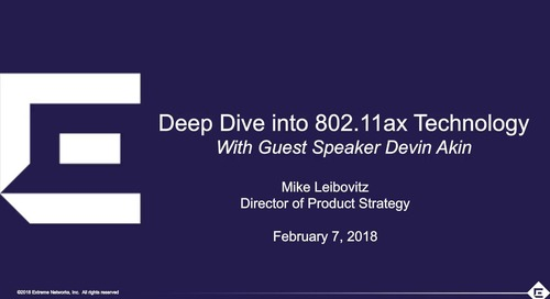 Deep Dive Into 802.11ax Technology