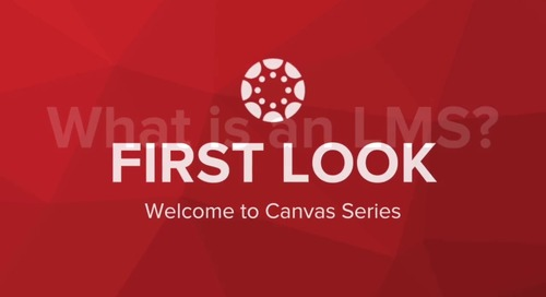 First Look: Welcome to Canvas Series