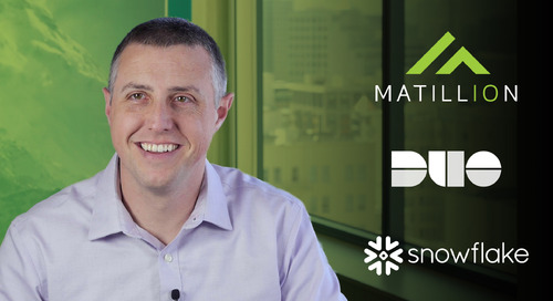 Watch why Duo Security selected Matillion ETL and Snowflake
