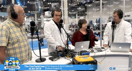 The ConTechCrew at AU 2018: Layton Construction & Autodesk Discuss Machine Learning