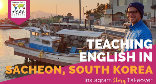 Day in the Life Teaching English in Sacheon, South Korea with Peter Kersting