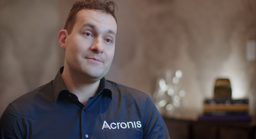 We saw a 20% increase in sales efficiency - Acronis