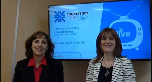 Competency Corner Live with Lorraine McKay - May 2018 Edition