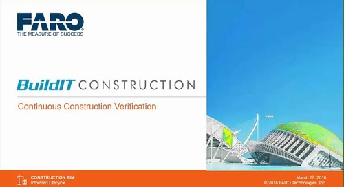 The first complete solution for continuous construction verification