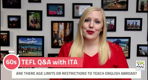 Are There Age Limits or Restrictions to Teach English Abroad? - TEFL Q&A with ITA