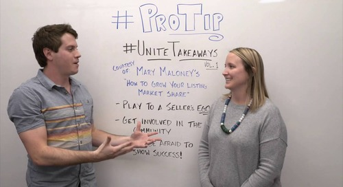 ProTip: Unite Takeaways Vol. 1 - Tips for Getting More Listings