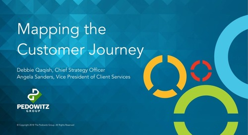 Webinar: Mapping the Customer Journey