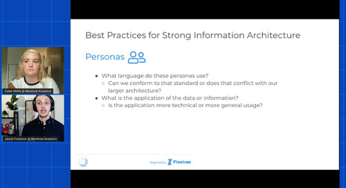 Why Don't These Numbers Match? Why Information Architecture Matters in Analytics
