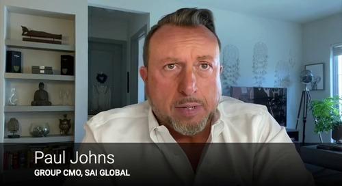 SAI Global's Paul Johns Introduces the Risk Arc