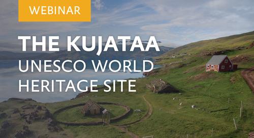 "Webinar: ""The Kujataa UNESCO World Heritage Site"" with Alibak Hard, UNESCO Site Manager."