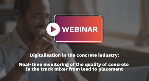 Webinar: Digitalisation In The Concrete Industry (English)
