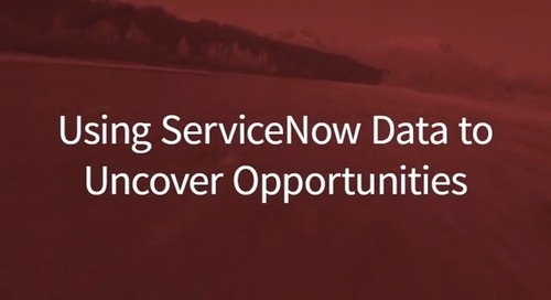 Friday Fast Fifteen: Using ServiceNow Data to Uncover Opportunities