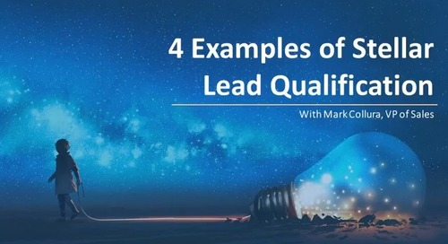 4 Examples of Stellar Lead Qualification