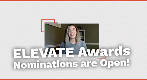 Nominations Are Open! | ELEVATE Awards 2021