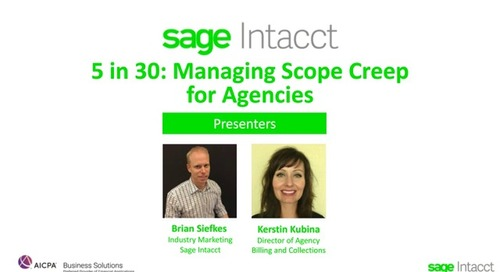5 in 30: Agency Best Practices for Managing Scope Creep