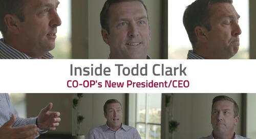 Inside Todd Clark - CO-OP's New President/CEO