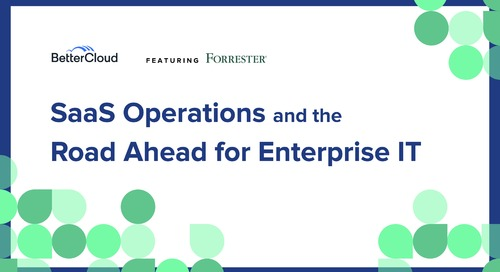 SaaS Operations and the Road Ahead for Enterprise IT