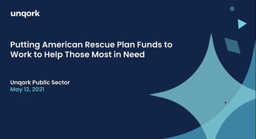 Webinar: Putting American Rescue Plan Funds to Work to Help Those Most in Need