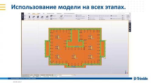 Моделирование расстановки опалубки Doka в Tekla Structures