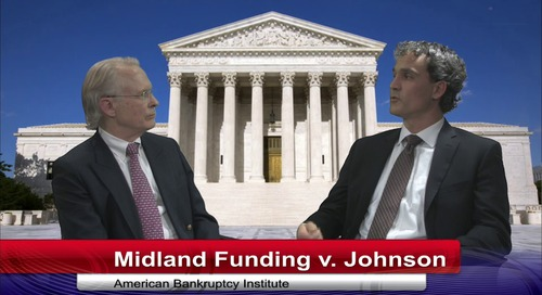 Recap of Oral Argument in Midland Funding v. Johnson
