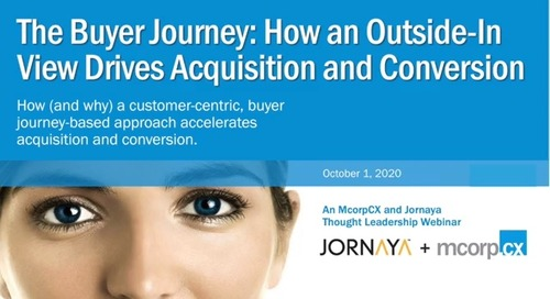 The Buyer Journey: How an Outside-In View Drives Acquisition & Conversion
