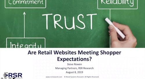 Webinar: 2019 RSR Report on eCommerce Website Performance