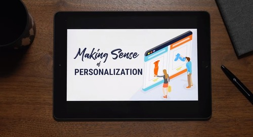 MakingSense of Personalization