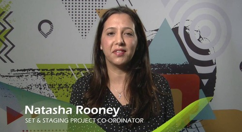 Natasha Rooney: Project Coordinator for the Set and Staging Department