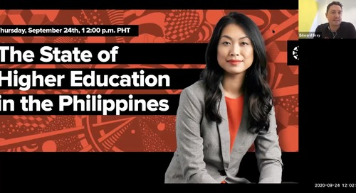 The State of Higher Education in the Philippines Webinar