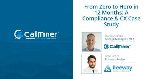 From Zero to Hero in 10 Months: A Compliance & CX Case Study