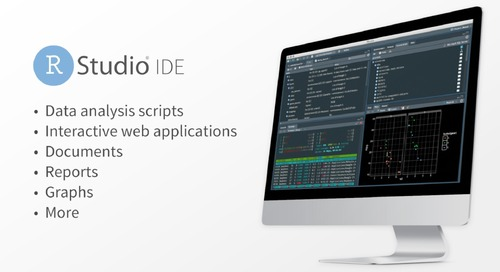 RStudio IDE Overview