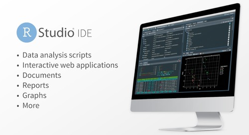 RStudio IDE Overview