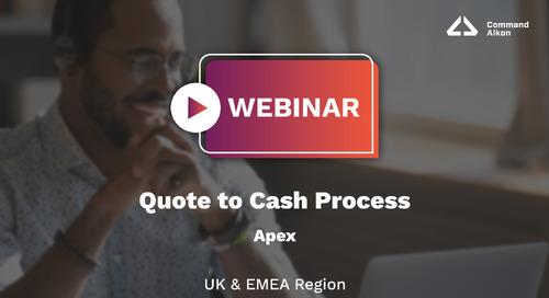 Apex Quote to Cash Process | Webinar