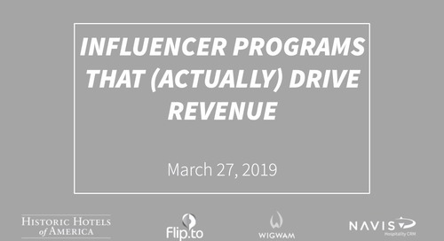 Influencer Programs That (Actually) Drive Revenue