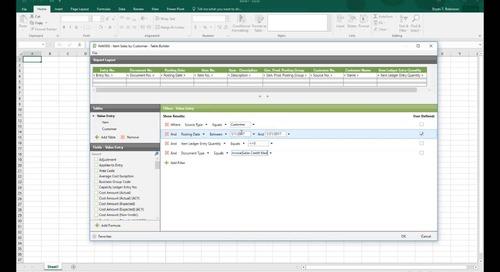 Modifying Pre-Built Reports in Jet Professional for Microsoft Dynamics NAV